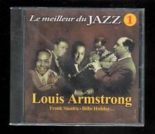 """CD - Le meilleur du Jazz - 1 : Louis Armstrong - 25 titres """" Boitier plastique """""""