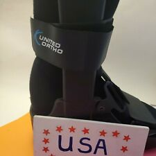 United Ortho Short Cam Walker Fracture Boot Large Left Right Pump L tall no pump