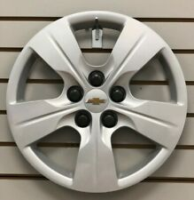 """2016-2019 Chevy CRUZE 15"""" 5-spoke Silver Bolt-on Hubcap Wheelcover 13399300"""