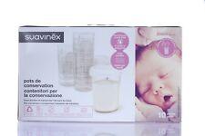 Suavinex Contenitori Conservazione latte 10 pezzi