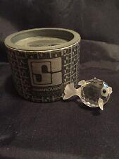 Small Swarovski Crystal Puffer Blowfish Figurine