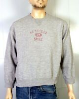 vtg 90s euc American Eagle AE Phys. Ed Classic Heather Gray Sweatshirt sz M