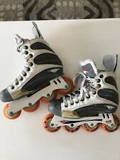 Mission Helium 5500 Quatro Roller Hockey In-line Skates Youth Size 5D