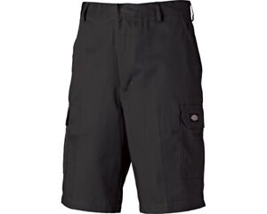 DICKIES REDHAWK Short / Bermuda schwarz kurze Hose Cargo Taschen WD834