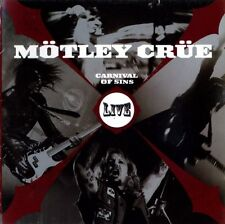 MOTLEY CRUE CARNIVAL OF SINS LIVE SEALED 2 CD SET NEW