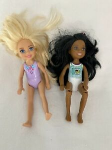 Mattel Barbie Doll Little Sister Dolls Chelsea 2016 African American & Blonde