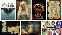 Game of Thrones Poster Westeros Map Print Buy 1 get 2 FREE