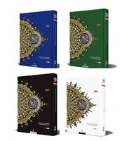 Al Quran Large A4 Word For Word Arab English Translation Colour Tajweed Maqdis