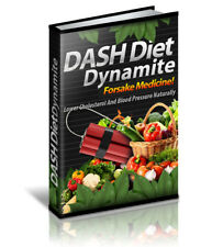 Try Dash Diet - Struggling With High Cholesterol And Hypertension? Ebook PDF