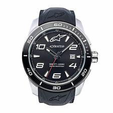Alpinestars Tech Watch 3H Steel Silicon Strap Analogue 1036-9600 - Black / Steel