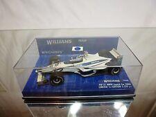 MINICHAMPS WILLIAMS FW21 BMW LAUNCH CAR 2000 SCHUMACHER - F1 1:43 - GOOD IN BOX