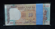 100  Notes Bundle of Rs.10 Shalimar FULL  serial note Bundle UNC