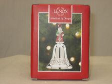 "Lenox Santa Bell Ornament 3"" 869542 (New In Original Lenox Box)"