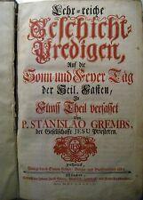 Lehr-reiche Geschicht-Predigen Sonn- und Feyer Tag 5. Theil P. Stanislao Grembs