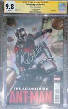 Astonishing Ant-Man #11 movie photo variant__CGC 9.8 SS__Signed by Paul Rudd