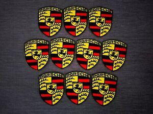 10 pcs Porsche Automotive Motorsport sports car Iron on Patch Embroidered Sew on