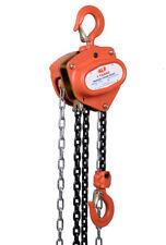 NEW industrial lifting equipment Chain Block 1t x 3mtr