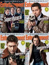EW Entertainment Weekly NEW Halloween Supernatural SET Jared Jensen Misha J2M