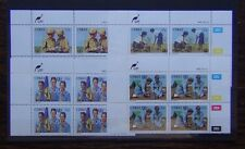 Ciskei 1985 75th Anniversary of Girl Guide Movement set in block x 4 MNH