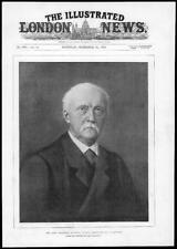 1894 Antique Portrait print-Professeur Hermann Ludwig Ferdinand Helmholtz (137)