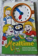 MEALTIME TICK TOCK BOOK KIDS CHILDREN HOW TO TELL TIME LEARNING BY NANCY PARENT