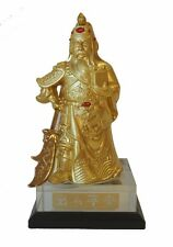 """5"""" Brass Guan Gong Statue"""