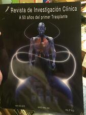 REVISTA DE INVESTIGACION CLINICA (A 50 ANOS DEL PRIMER TRASPLANTE)--NEW BOOK