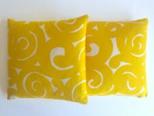 MARIMEKKO 1960'S ORIG VTG RARE MID CENTURY SCANDINAVIAN MODERN THROW PILLOWS