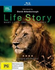 Life Story (Blu-ray, 2015, 2-Disc Set) David Attenborough NEW/SEALED