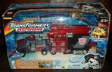 Hasbro Transformers Armada Optimus Prime w/ corona sparkplug final battle Action Figure