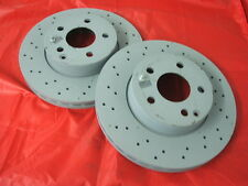 Genuine Mercedes-Benz W204 C-Class FRONT Vented AMG Brake Discs A2044213612 NEW