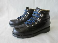 Merrell Vintage Black Leather Hiking Trail Boot Women's 6M Italy