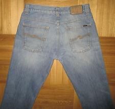 Nudie NJ526 Bootcut Ola Shelf Bleach Blue Denim Jeans Size W34 L34