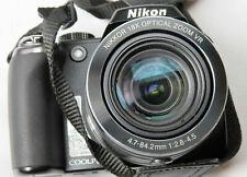 Nikon COOLPIX P80 Digital Camera SLR Lens Nikkor 18x Optical Zoom Battery Bag