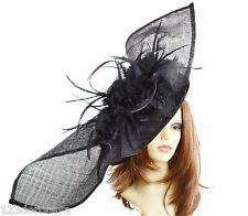 Extra Large Mint Green Fascinator for Ascot, Weddings E1