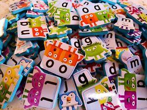 Alphablocks Cbeebies 161 Foam Letters Preschool Learning Letter Sounds
