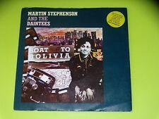 45 tours SP - MARTIN STEPHENSON - BOAT TO BOLIVIA - 1986