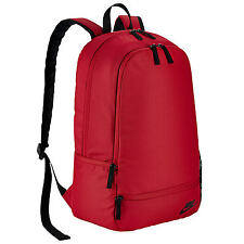 NEW NIKE CLASSIC NORTH SOLID UNISEX BACKPACK, RUCKSACK, SCHOOL, GYM BAG-RED