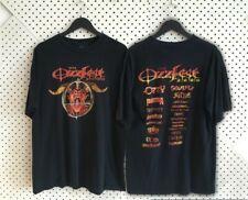vintage ozzfest tshirt 2000 ozzy ozbourne metal concert tee