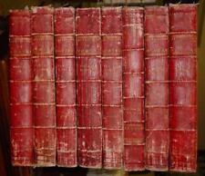 MORERI. Le Grand Dictionnaire Historique... Amsterdam, 1740 ; 8 volumes in-folio