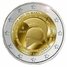 2 euro GRECIA 2020 Battaglia delle Termopili