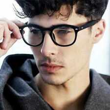 Black Frame Unisex Johnny Depp Style Glasses 2019 Clear Lens Optical Glasses