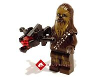 LEGO Star Wars - Chewbacca including bowcaster stud shooter from set 75105