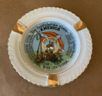 The Confederate States Of America Civil War Centennial Collectors Plate/Ashtray