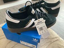 Adidas Spezial - Uk Size 10 - Black Suede / White Stripes - Brand New & Boxed