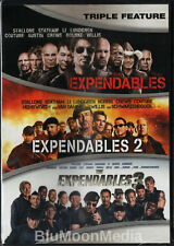 The Expendables 1 2 3 DVD Trilogy Complete Collection Sylvester Stallone NEW