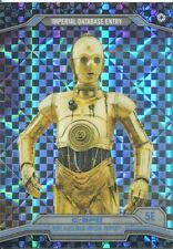Star Wars Chrome Perspectives X-Fractor Parallel Base #5E C-3PO