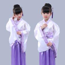 Girls Ancient Chinese Costume Princess Dramaturgic Han Fu Party Dresses Cosplay