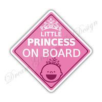 Baby on Board Child Full Color Adhesive Vinyl Sticker Window Car Bumper #051
