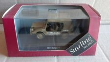 "DIE CAST "" DKW MUNGA 4 HIMALAYA "" STARLINE SCALA 1/43"